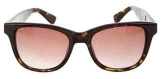 Anine Bing Tortoiseshell Gradient Sunglasses