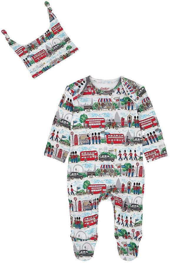 Baby Boys Sleepsuit & Hat Gift Set