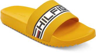 b993d45333c86f Tommy Hilfiger Men Rustic Slide Sandals Men Shoes