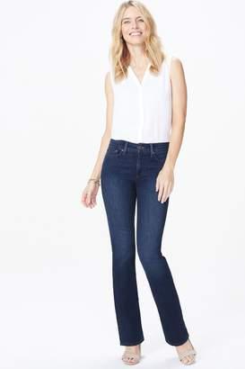 NYDJ Womens Mid Blue Denim Barbara Boot Cut Jean - Blue