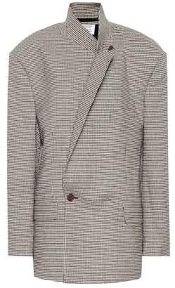 Vetements Oversized wool-blend blazer