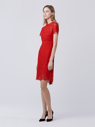 Alma Lace Dress $468 thestylecure.com