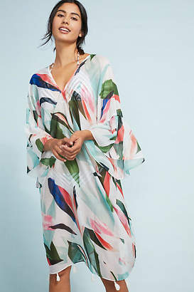 Pool' Pool to Party Birds of Paradise Caftan
