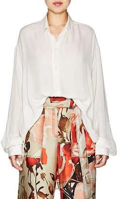 BY. Bonnie Young Women's Silk Crepe Blouse