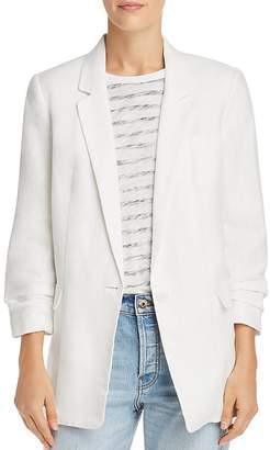 Joie Kishina B Ruched-Sleeve Blazer