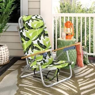 Bayou Breeze Tosca Aluminum Frame 2-in-1 Patio Sling Beach Chair Bayou Breeze