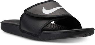 Nike Men's Kawa Adjustable Slide Sandals from Finish Line