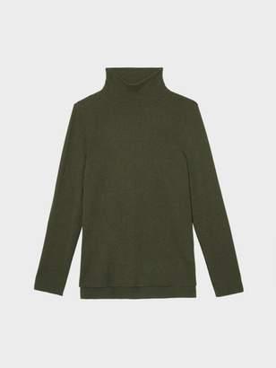 DKNY Cashmere Mock Neck Sweater