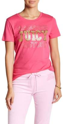 Juicy Couture Collegiate Glam Tee $19.97 thestylecure.com