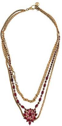 Lulu Frost Multistrand Crystal Necklace $95 thestylecure.com