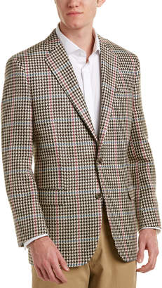 Brooks Brothers Madison Fit Wool, Silk, & Linen-Blend Sportcoat
