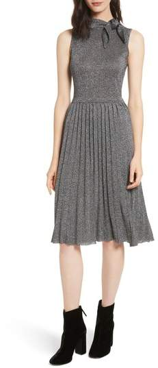 Women's Kate Spade New York Metallic Knot Sweater Dress