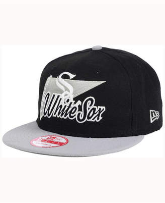huge selection of 3a726 e31d9 ... discount new era chicago white sox logo stacker 9fifty snapback cap  92655 23324
