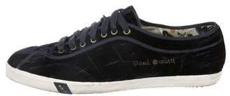 Paul Smith Velvet Low-Top Sneakers