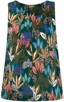 Altea leaf pattern vest top