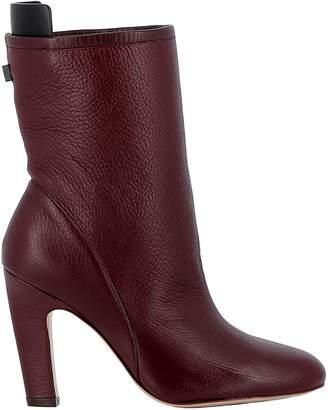 Stuart Weitzman Cabernet Leather Boots