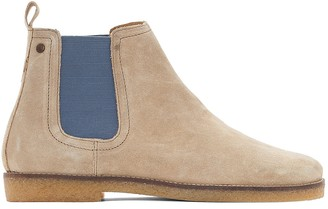 Base London Ferdinand Leather Ankle Boots