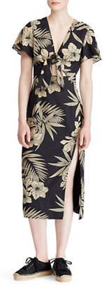 Polo Ralph Lauren Floral Tie Dress