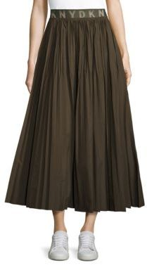 DKNYDKNY Solid Pleated Skirt