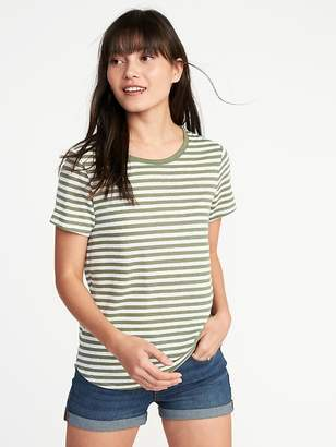 Old Navy EveryWear Linen-Blend Tee for Women