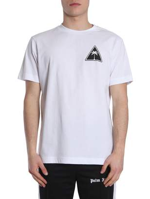 Palm Angels Round Collar T-shirt