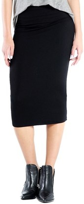 Women's Michael Stars Convertible Jersey Pencil Skirt $88 thestylecure.com