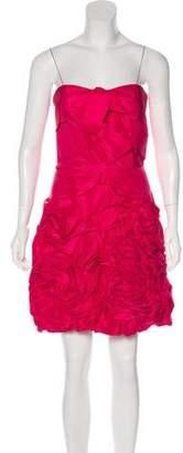 Robert Rodriguez Silk Cocktail Dress