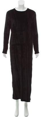 Rosetta Getty Velvet Maxi Dress w/ Tags