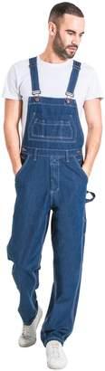 G8 One Mens Regular Fit Denim Overalls Stonewash (XL) Value overalls cheap overalls