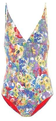 Stella McCartney Floral-printed swimsuit