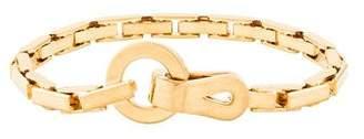 Cartier 18K Agrafe Link Bracelet