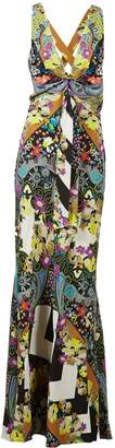 Etro Printed Sleeveless Maxi Dress