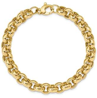 Bloomingdale's 14K Yellow Gold Polished Rolo Link Bracelet - 100% Exclusive