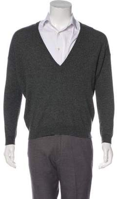 Brunello Cucinelli Cashmere V-Neck Sweater w/ Tags