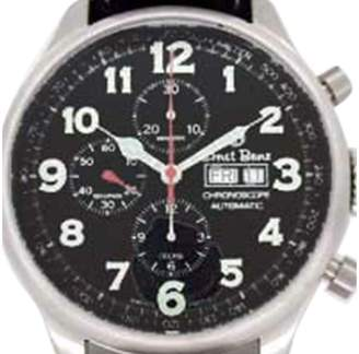 "Ernst Benz Chronoscope"" Chronograph Stainless Steel Mens Watch"