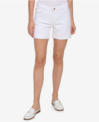 Tommy Hilfiger Cuffed Bermuda Shorts, Created for Macy's