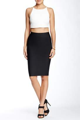 Wow Couture Bodycon Pencil Skirt