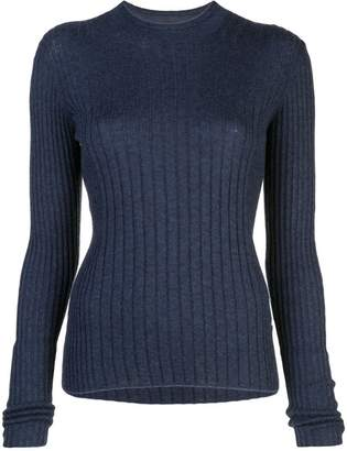 Vince ribbed knitted jumper