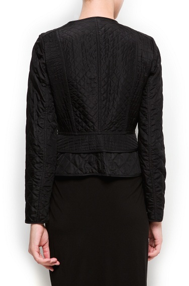 MANGO Diamond quilted fitted jacket