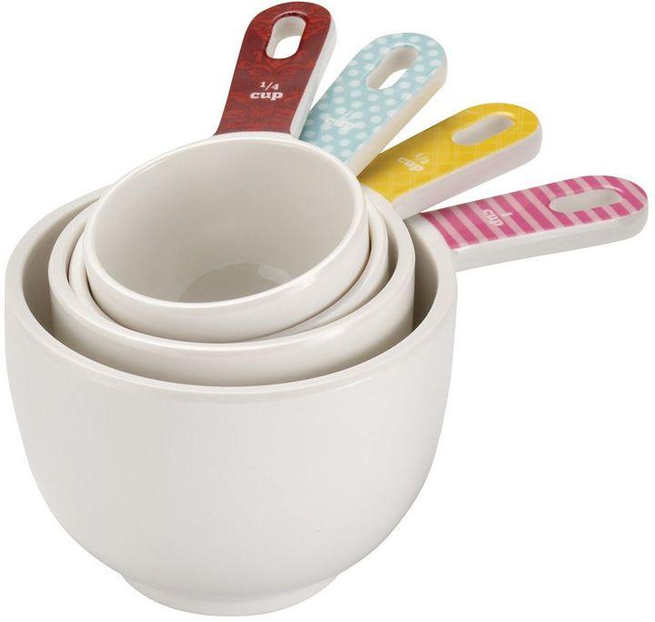 Cake BossTM Countertop Accessories Festive 4-pc. Measuring Cup Set