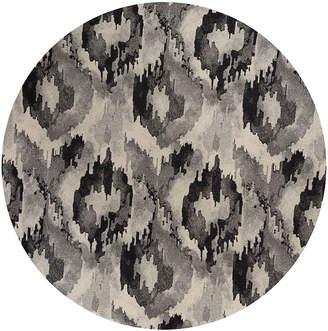 Asstd National Brand Reina Illusion Round Rugs