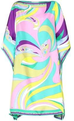 Emilio Pucci Beach Printed silk minidress