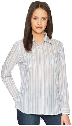 White Sierra Bug Free Gauze Tunic Women's Blouse