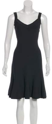 Alaia A-Line Sleeveless Dress