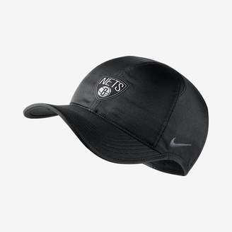 Nike Brooklyn Nets AeroBill Featherlight NBA Hat