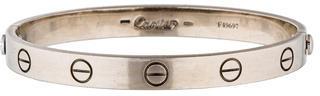 Cartier 18K LOVE Bracelet $4,395 thestylecure.com