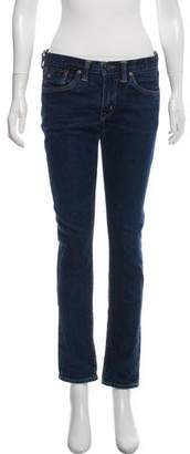 Co RRL & Mid-Rise Skinny Jeans