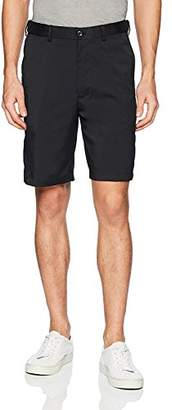 Savane Men's Flat Front Flex-on Solid Short