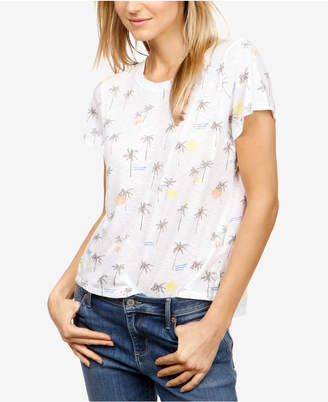 Lucky Brand Palm Tree Print T-Shirt, Created for Macy's