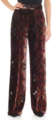 Etro Devore Velvet Trousers